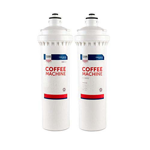 Clear Choice Coffee, Tea Filtration System Replacement Cartridge for Everpure 4CB5-S EV9617-21 Also Compatible with BevGuard BGP-2300S, Nu Calgon 4621-31, Pentair 4CB5-S EV9617-26, 2-Pack by Clear Choice