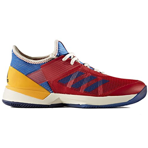 Adidas Adizero Ubersonic 3 PW Women's Tennis Shoe Red/Blue/Gold by adidas