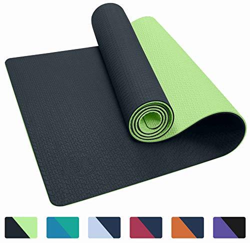 IUGA Non Slip Yoga Mat with Carry Strap, Eco Friendly & SGS