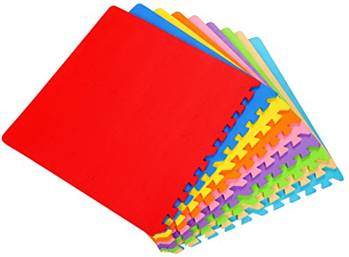 Balancefrom Kid S Puzzle Exercise Play Mat With Eva Foam