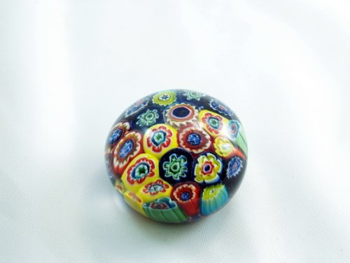 (Tripact Inc M Design Art Handcraft Millefiori Art Handmade Art Glass Paperweight S Pw-074)
