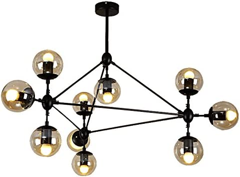 Designer Style Pendant Lamp Chandelier 15 or 21 Glass Globes Lamp Shade