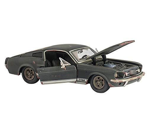 GYZS-TOY Der ursprüngliche Mustang 1967 machte die alte alte alte Version der Simulation Legierung Automodell 1:24 Automodell Collection Geschenk Ornamente (Farbe : Grün) e4edcd