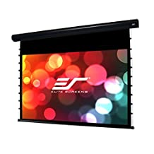 Elite Screens Starling Tab-Tension, 100-inch 16:9, Electric Motorized Projection Tensioned Projector Screen, STT100UWH-E24