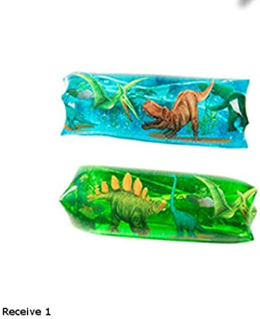 1x Water Wiggler Sensory tube Doughnut snake fidget tactile autism toy