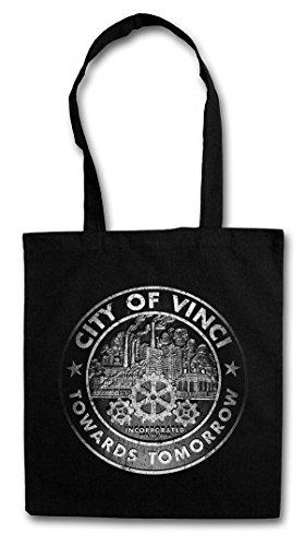 OF Bag Stofftasche Einkaufstasche Hipster Beutel VINCI CITY SFZqf1q