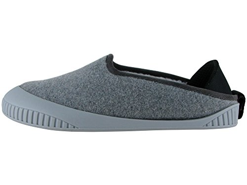 Pantofola Classica Kush Unisex Dualyz Con Suola Rimovibile Grigio Chiaro / Grigio Chiaro