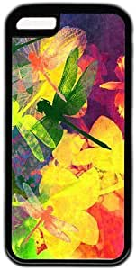 Colorful Dragonfly Painting Theme for iphone 6 plus 5.5 Case