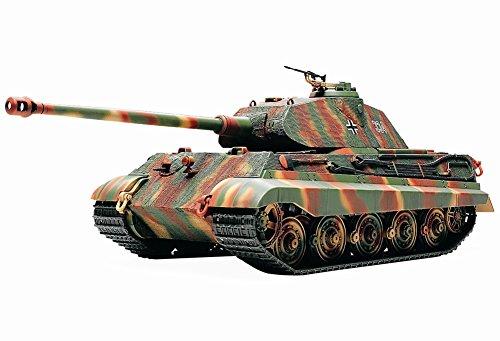 King Tiger Heavy Tank - Tamiya 1/48 Military Miniature Series No.39 German Heavy Tank King Tiger (Porsche turret) 32539