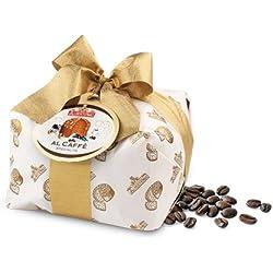 Albertengo Panettone Italian Holiday Cake, Coffee, 2.2 Pound