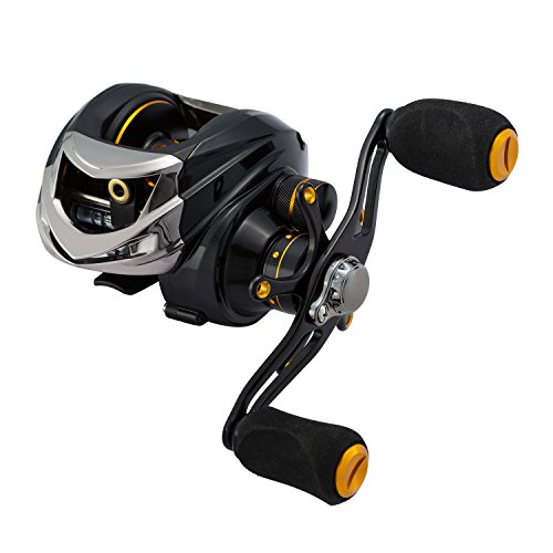 Piscifun High Performance Black Low Profile Left Hand Baitcast Baitcasting Fishing Reel