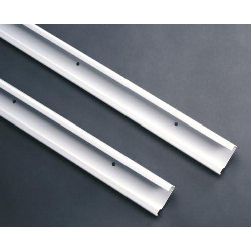 ClosetMaid 2826 ShelfTrack 40 Inch Hang Track, White Delicate