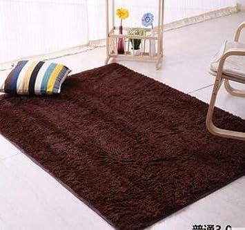 KOOCO 100*200cm Home Textile Wohnzimmer Teppich Groß Mat Lange Haare Schlafzimmer  Teppich Kaffee Tisch