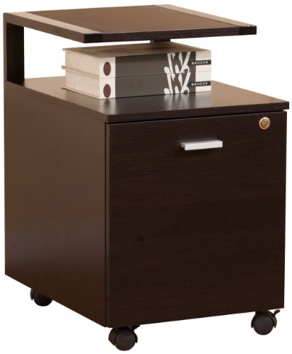 ioHOMES Bury File Cabinet, Dark Espresso by HOMES: Inside + Out