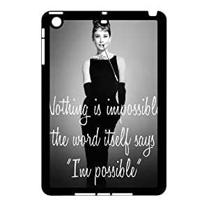 Audrey Hepburn Quotes Brand New Cover Case for Ipad Mini,diy case cover ygtg-782320