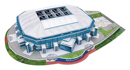 Giochi Preziosi 70002131 - 3D Stadion-Puzzle Veltins Arena Schalke Nanostad Architektur