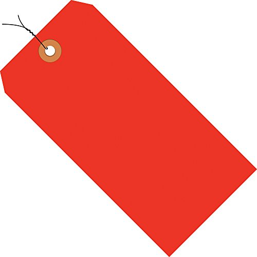 Boxes Fast BFG12083C 13 Pt. Shipping Tags-Fluorescent≪ Br/> Pre-Wired, Load Capacity, 3.125