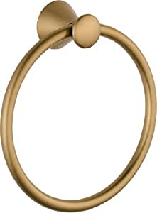 Delta Faucet 73846-CZ Lahara Towel Ring, Champagne Bronze