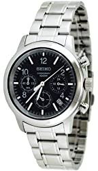 Seiko Men's SSB007 Stainless Steel Bracelet Watch