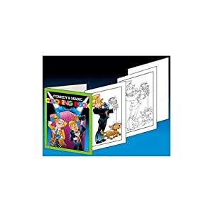 comedy and magic coloring book easy magic trick - Coloring Book Magic Trick