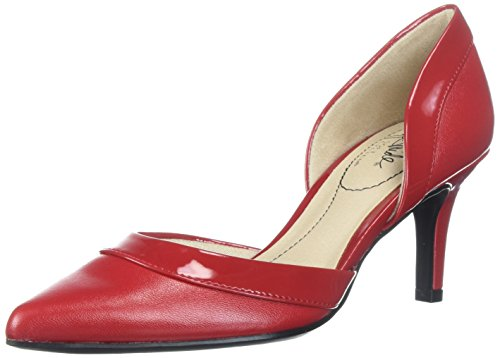 LifeStride Women's Saldana Pump, fire red, 7.5 M US ()