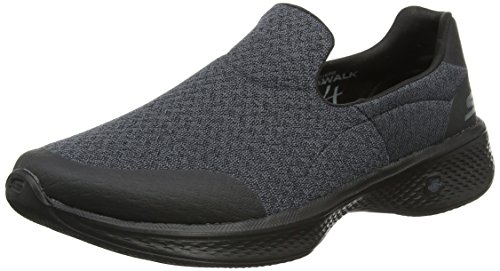 Skechers Noir Go 4 Femme Baskets Enfiler Walk Black vf4rwqxvYz