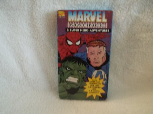 Marvel Matinee Vol.2 Featuring Spiderman, The Fantastic Four, and The Incredible Hulk [VHS]