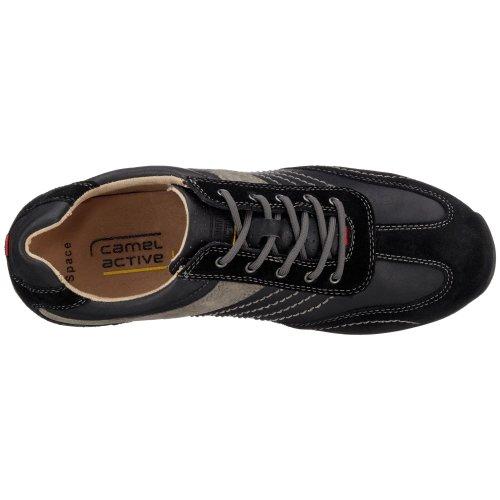 Camel Active Ruimte 12 137.12.15 Herren Sneaker Zwart / Zwart / Grijs