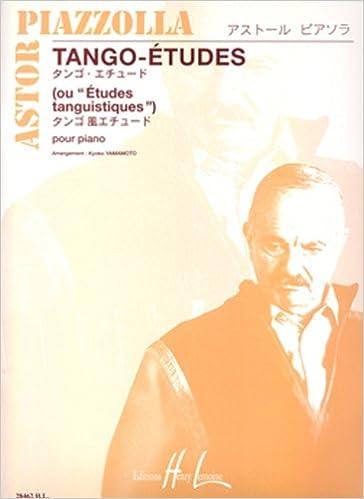 Livres gratuits Tango-Etudes (6)         Piano pdf