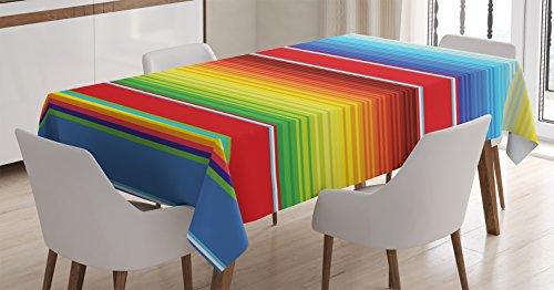 Decorations Tablecloth Ambesonne Horizontal Rectangular