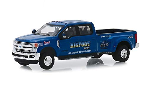 Greenlight 46020-E Dually Drivers Series 2-2019 Ford F-350 Dually - Bigfoot #1 The Original Monster Truck 1:64 Scale