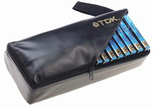 TDK SA90 Audio Cassette Tape with free storage case ()