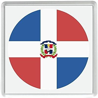 Marca para República Dominicana Emoji 58mm x 58mm Nevera Imán/Flag ...