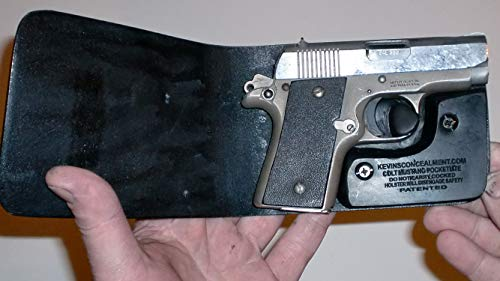 Wallet Holster for Full Concealment - Colt Mustang (Black, Right Hand Lasermax)