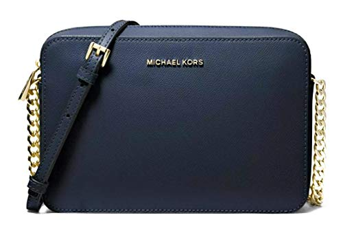 Michael Kors Women's Jet Set Large Crossbody Bag No Size (Navy)