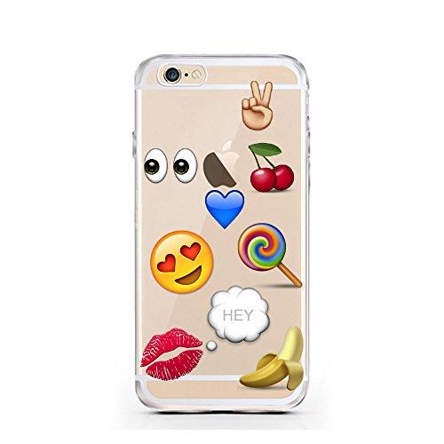 iPhone 6 Caso 6S por licaso® para el patrón de Apple iPhone 6 6S Sueños Snoopy Peanuts Charly Brown TPU de silicona ultra-delgada proteger su iPhone 6S es elegante y cubierta regalo de coches Emoji