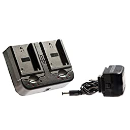 Ikan ICH-DUAL-S Sony L Series Battery Compatible Charger