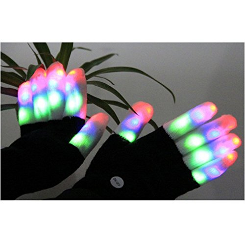 Toys For Girls 9 12 From Smith S : Luwint led colorful flashing finger lighting gloves buy