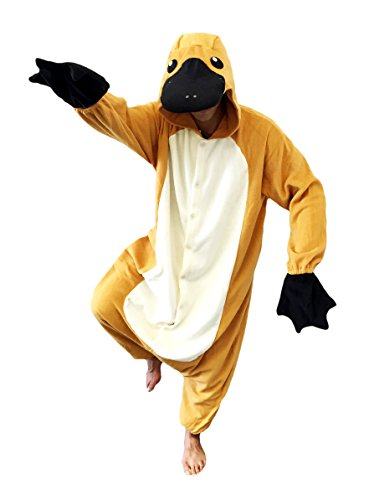Halloween Platypus Onesie Costumes (Adults, Platypus) -