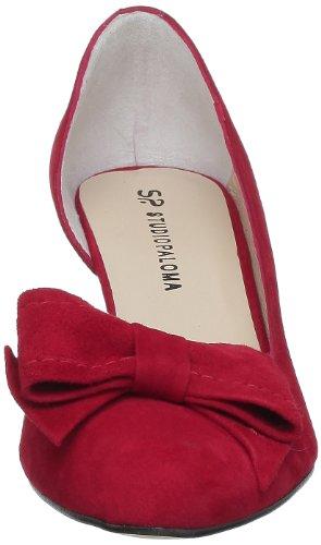 Studio Paloma 18510 356 Taco 504508 Forrado, Women's Sandals Rouge (Ante Rojo)