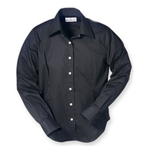 bill-blass-ladies-wrinkle-free-long-sleeve-stretch-poplin-shirt-in-black-small