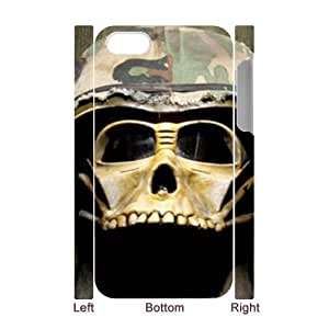 Iphone 4,4S Helmet 3D Art Print Design Phone Back Case Personalized Hard Shell Protection MN100443