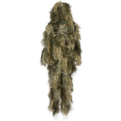 Modern Warrior Mixed Tactical and Hunting Ghillie Suit, One Size Fits Most Adults (Swamp Monster Costume)