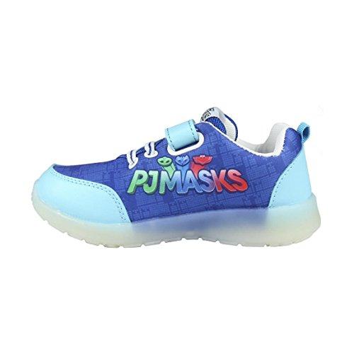 Azul Zapatillas talla 24 Masks Pj 3142 Deportivas Led Con qfqSp7Y