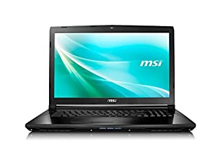 "MSI CX72 7QL-026 17.3"" Laptop Intel Core i5-7200U GeForce 940M 8GB DDR4 256GB SSD Window 10 Pro (B01MU51RFU) 
