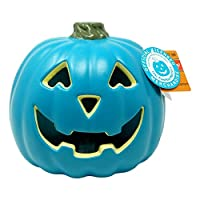 Teal Pumpkin Jack O' Lantern