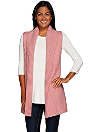 NY Sweater Vest Shawl Collar A268715