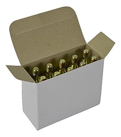 10cartuchos de Co2Mosa de 16g con punta roscada para hinchar