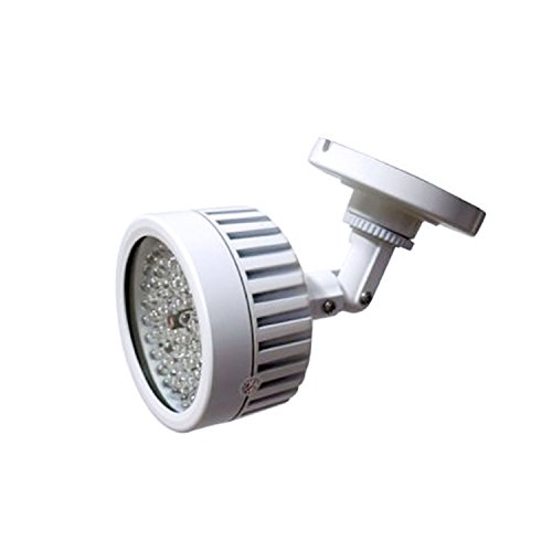 CMVision IR56 - 56 LED Indoor/Outdoor Long Range 100ft IR Illuminator With Free 1A 12VDC Adapter (Ir Range)