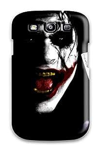 Zheng caseSpecial JakeNC Skin Case Cover For Galaxy S3, Popular Joker Face With A Joker Card Phone Case